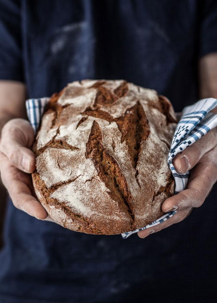 gebakken brood koopmans van tarwe Hoogland BV